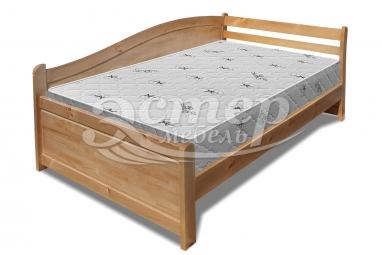 Кровать Аделина Hard из массива сосны с подъемным механизмом