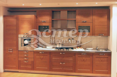Кухня Модерн из массива сосны