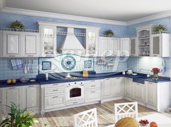 Кухня Валерия из массива сосны
