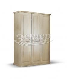 Шкаф Прага из массива сосны
