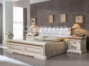 Спальный гарнитур Милано 3 из массива сосны