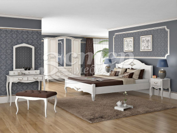 Спальный гарнитур Прованс 2 из массива сосны