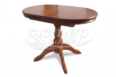 Кухонный раздвижной стол Остин из массива дуба