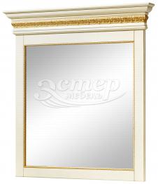 Зеркало Милано с багетом из массива березы