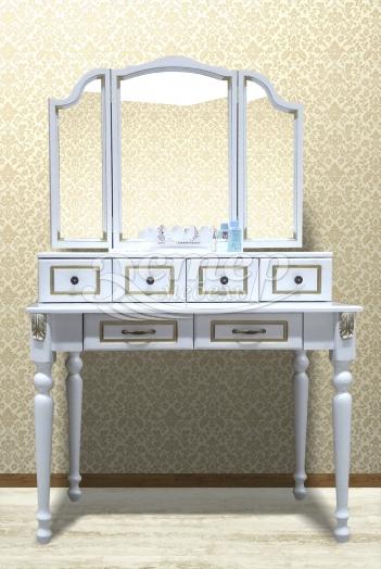 Дамский столик Флавия из массива березы