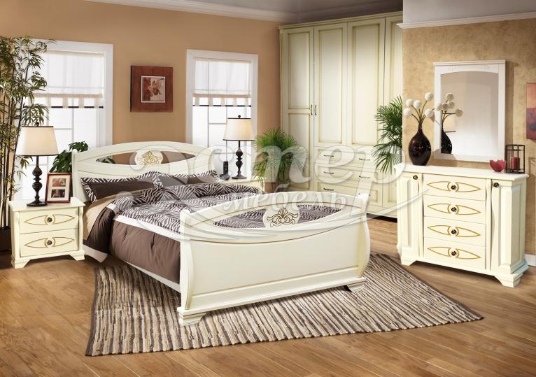Спальный гарнитур Аверса из массива сосны