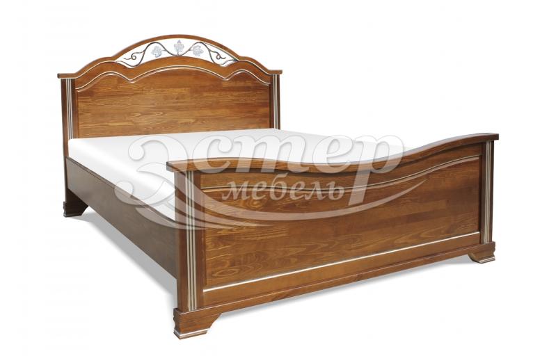Кровать Пальмира из массива сосны