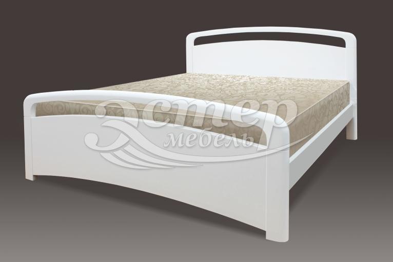 Кровать Альберта из массива дуба