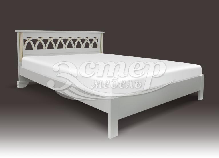 Кровать Прага (Люкс) из массива сосны