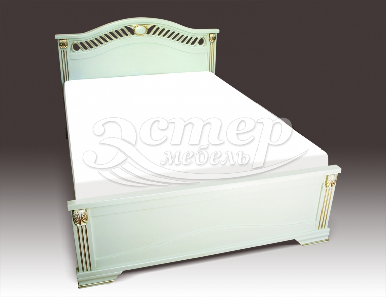 Кровать Флавия из массива дуба
