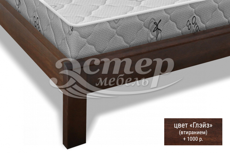 Кровать Арланса из массива сосны