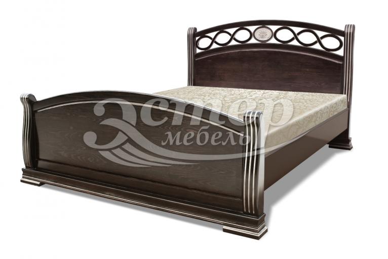 Кровать Сиена из массива сосны