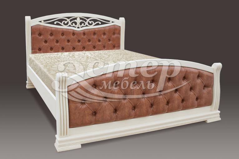 Кровать Сицилия из массива сосны
