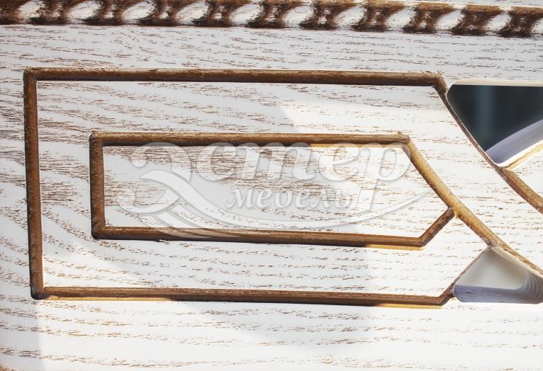 Кровать Томпсон из массива дуба