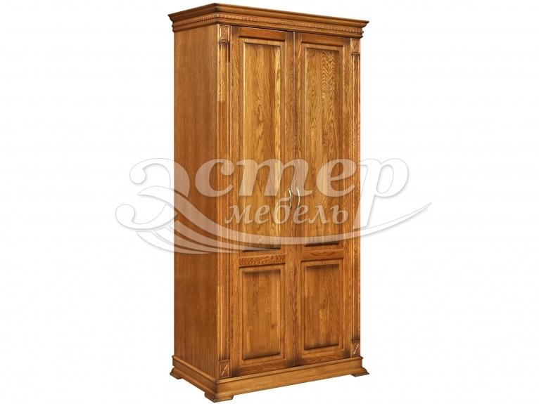Шкаф 2-х створчатый Флоренция-2 из массива сосны