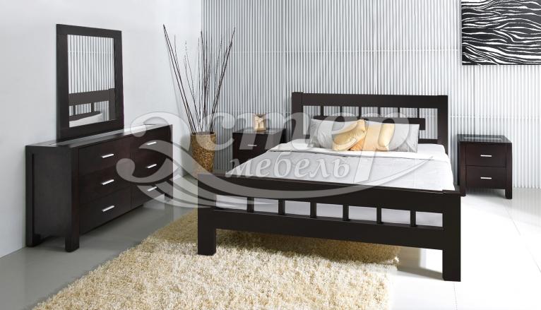 Спальный гарнитур Сория из массива березы