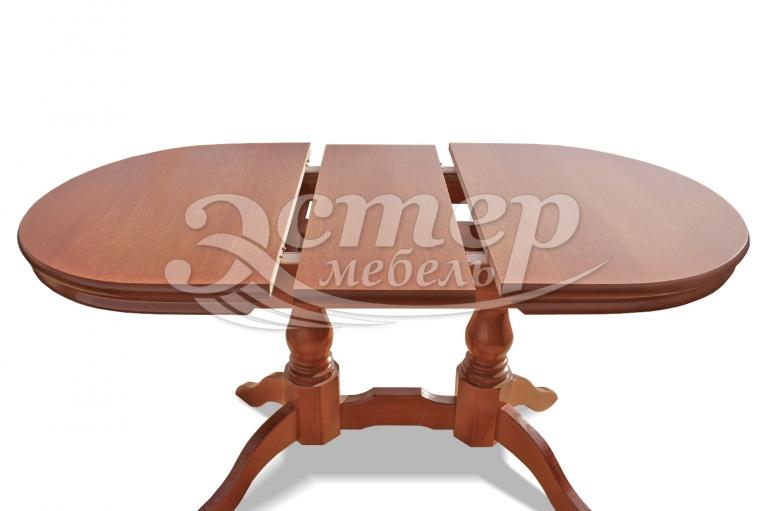 Кухонный раздвижной стол Мемфис из массива сосны