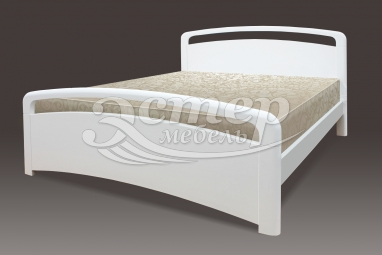 Полутороспальная кровать Кровать Альберта из массива сосны