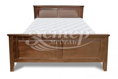 Полутороспальная кровать Кровать Руан из массива сосны