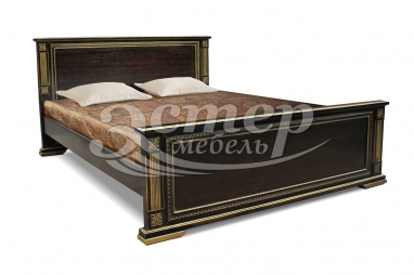 Кровать Риволи из массива сосны