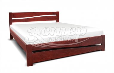 Кровать Кастро из массива дуба