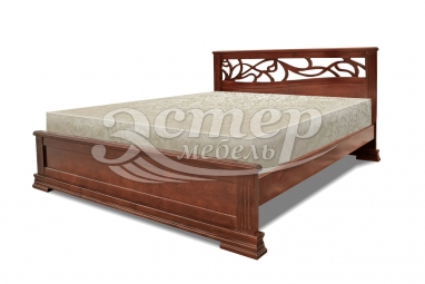 Полутороспальная кровать Кровать Квебек из массива сосны