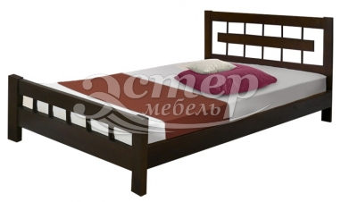 Кровать Сория из массива дуба