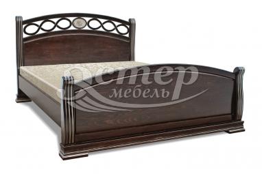 Полутороспальная кровать Кровать Сиена из массива сосны