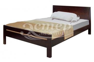 Кровать Колумбия из массива дуба