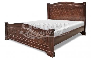 Кровать Ливадия из массива дуба