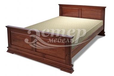 Кровать Лирона из массива дуба