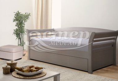 Кровать Оксфорд из массива дуба