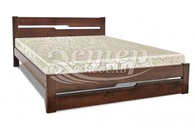 Кровать Веста из массива сосны с подъемным механизмом