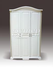 Шкаф с гнутым багетом из серии