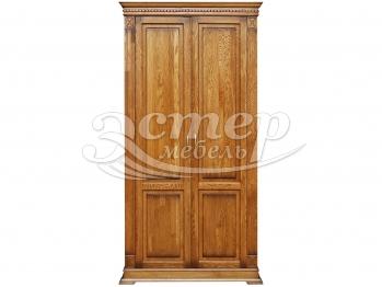 Шкаф 2-х створчатый Флоренция-2 из массива березы