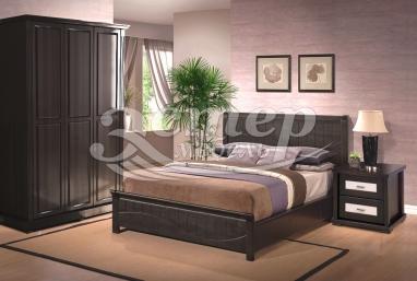 Спальный гарнитур Герона из массива дуба