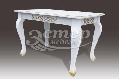 Кухонный стол Лотос из массива дуба